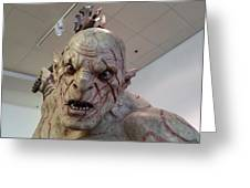 New Zealand - Azog, Lord Of The Rings Greeting Card