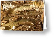 Onondaga Cave Formations Greeting Card