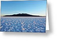 Salar De Uyuni, Bolivia Greeting Card