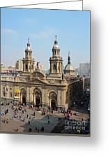 Santiago De Chile Greeting Card