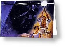 Star Wars Poster Art Greeting Card