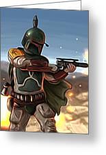 Star Wars The Art Greeting Card