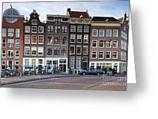 Streets Of Amsterdam Greeting Card