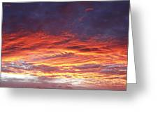 Summer Sky Greeting Card