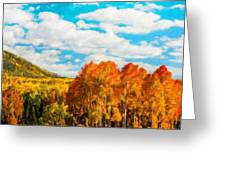 Landscape Painted Greeting Card