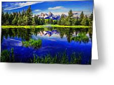 Nature Cool Landscape Greeting Card