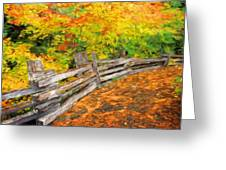 Nature Oil Paintings Landscapes Greeting Card
