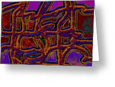 1554 Abstract Thought Greeting Card