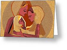158 - Women With Child 4 Greeting Card