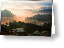 Nature Original Landscape Painting Greeting Card