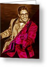 Bo Diddley Collection Greeting Card