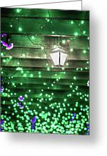 Christmas Light Bokeh At Daniel Stowe Gardens Belmont North Caro Greeting Card