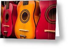 Guitar Greeting Card
