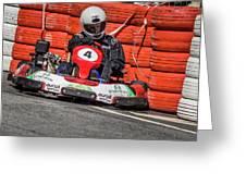 Karting Portugal Pacos De Ferreira Greeting Card