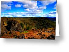 Landscape Painting Oil Greeting Card