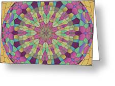 Mandala Ornament Greeting Card