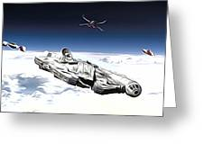 New Star Wars Poster Greeting Card