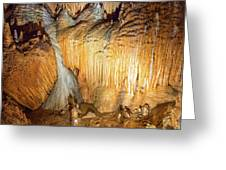 Onondaga Cave Formations Greeting Card