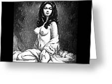 Pinup Greeting Card