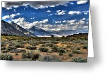 Poster Landscape Greeting Card