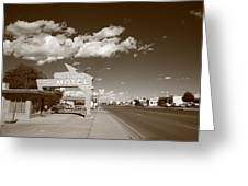 Route 66 - Tucumcari New Mexico Greeting Card
