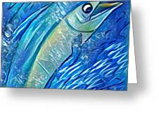 Swordfish Greeting Card
