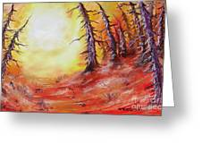 16 Trees Greeting Card by Joseph Palotas