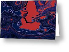 1671 Abstract Thought Greeting Card