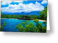 Nature Landscape Lighting Greeting Card