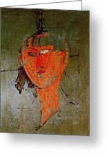 16937 Amedeo Modigliani Greeting Card