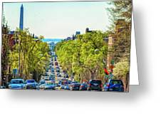 16th Street Northwest Greeting Card