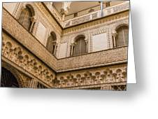 Alcazar Of Seville - Seville Spain Greeting Card