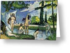 Bathers Greeting Card