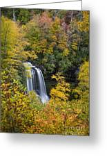 Dry Falls - Highlands, Nc Greeting Card