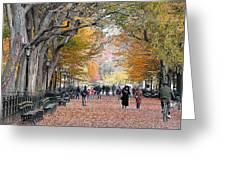 Poets Walk Greeting Card
