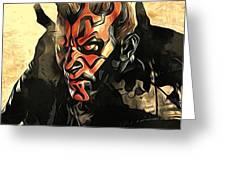 Star Wars Print And Poster Greeting Card