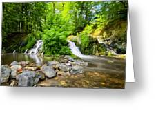 Wall Landscape Greeting Card