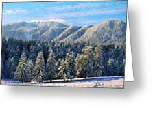 Nature Original Landscape Painting Greeting Card