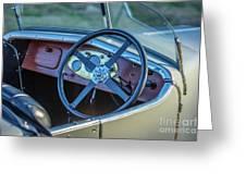 1743.032 1930 Mg Steering Greeting Card