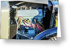 1743.034 1930 Mg Engine Greeting Card