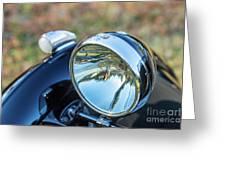 1743.0421930 Mg Headlight Greeting Card