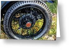 1743.051 1930 Mg Wheel Greeting Card