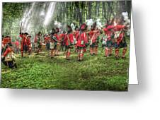 1763 Battle Of Bushy Run Pennsylvania Greeting Card