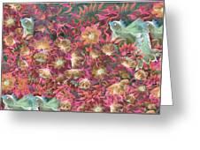 Birds Symphony Greeting Card