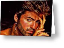 George Michael Collection Greeting Card