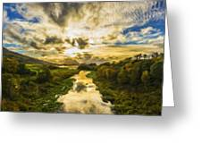 Landscape Color Greeting Card