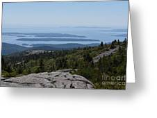Mountain's View Greeting Card