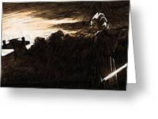 Movie Star Wars Art Greeting Card