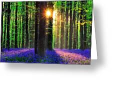 Natural Landscape Greeting Card