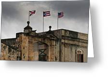 Old San Juan Puerto Rico Greeting Card